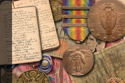 old military memorabilia