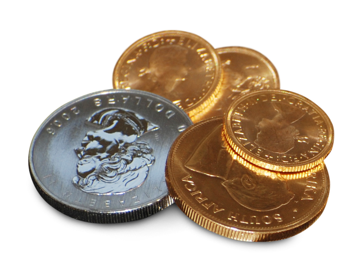 buy and sell gold coins at All County